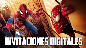 Invitacion Digital Spiderman Marvel Sony Youtube