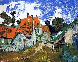 Vincent Van Gogh Village Street Wall Decal Farmhouse Wall Decals By Art Megamart