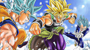 broly legendary super saiyan vs goku