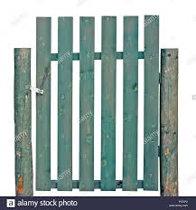 Green Painted Fence Posts High Resolution Stock Photography And Images Alamy
