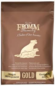 fromm gold weight management dry dog
