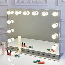tabletops lighted makeup vanity mirror