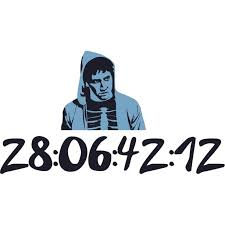 Removable Donnie Darko Home Art Sci Fi Thriller Movie Wall Decal 19 Inches X 30 Inches Vinyl Living Room Bedroom Countdown Timer Jake Gyllenhaal Decor Design Adhesive Decoration Sticker Multicolor