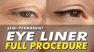 get permanent eyeliner tattoo makeup