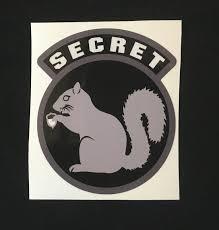 5 95 Secret Squirrel Swat Tactical Ems Emt Morale Car Vehicle Window Decal Sticker Ebay Collectibles Secret Squirrel Squirrel The Secret