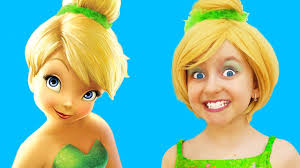 tinkerbell hair and makeup games