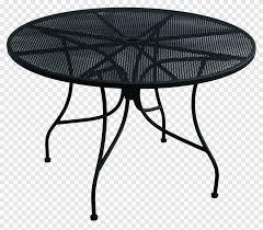 table garden furniture wrought iron