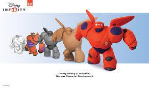 disney infinity edition baymax character development big