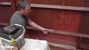 How To Paint A Fence With A Garden Fence Sprayer Mybuilder Youtube