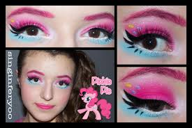 pinkie pie makeup inspired by