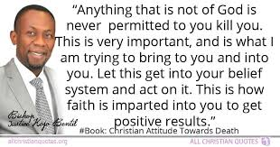 justice kojo bentil quote about act anything faith