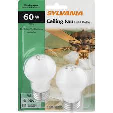 60 watt ceiling fan light bulbs