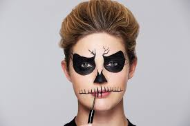 easy halloween makeup ideas using just