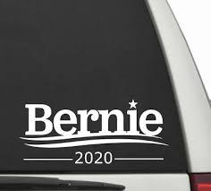 Bernie Sanders 2020 Feel Bern President Election Window Decal Bumper Sticker 794 Rainbowlands Lk