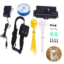 Underground Electric Dog Fence System Waterproof Shock Collars For 1 3dogs With Us Plug Walmart Com Walmart Com