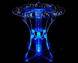seven led coffee tables to sparkle your