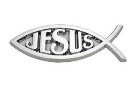 Jesus Christian Fish Symbol Chrome Emblem S3 Trends