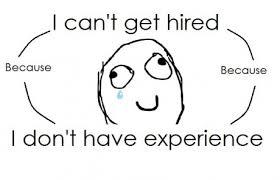 no job no experience
