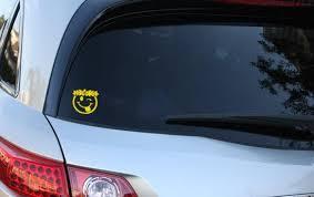 Inbloom Stickers Happy Face Car Sticker