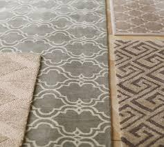 scroll tile rug pottery barn