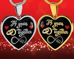 34th wedding anniversary gift