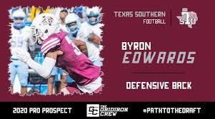 Byron Edwards: 2020 Pro Prospect Interview – The Gridiron Crew