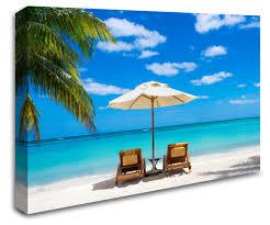 3d Beach Wall Stickers Large Hut Decor Design Themed Uk Art Theme Window Vamosrayos