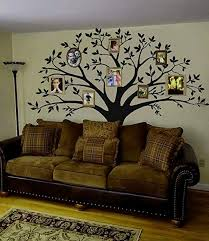 Amazon Com Mafent Giant Family Photo Tree Wall Decal Mural Art Vinyl Wall Stickers Living Room Baby Room Decor Black Kitchen Dining