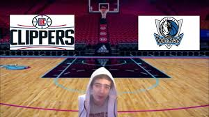 NBA prediction Mavericks vs Clippers - YouTube
