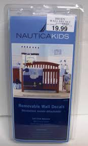 Nautica Kids Brody Whale Anchor Wall Decals Navy Light Blue Royal Yellow New Ebay