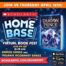 The Dragon Prince - Bring the whole family! Join writers Aaron Ehasz and  Melanie Ehasz for a fun Q&A on writing the upcoming Dragon Prince novel  THURSDAY 4/16 at 4PM EST/1PM PST!