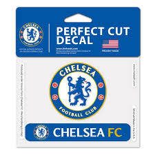 Chelsea Fc Official Premier League 4 Inch X 6 Inch Perfect Cut Car Decal By Wincraft Walmart Com Walmart Com