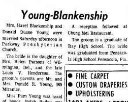 Donald duane young and hazel blankenship - Newspapers.com