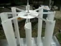 pvc vertical wind turbine you