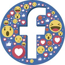 Facebook Emoji Logo Window Decal Tenstickers