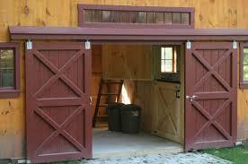 build a sliding garage doors