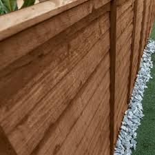 Mercia Feather Edge Fence Panel Pressure Treated Garden Street