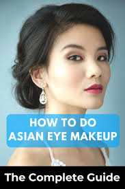 how to do asian eye makeup the