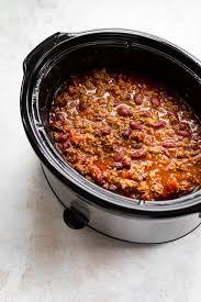 crockpot beef chili salt lavender