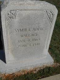 "Symira Adeline ""Addie"" Cox Wallace (1865-1941) - Find A Grave Memorial"
