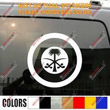 Saudi Arabia Air Force Roundel Car Decal Sticker Ebay