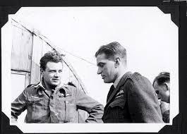 Air Vice-Marshal Johnnie Johnson and John Hawley   RCAF No. 403 ...