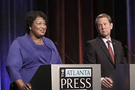 Stacey Abrams vs. Brian Kemp ...