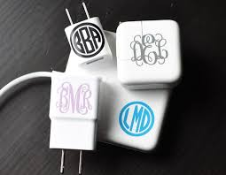Must Have Monograms Set Of 6 Monogram Decal Monogram College Gifts