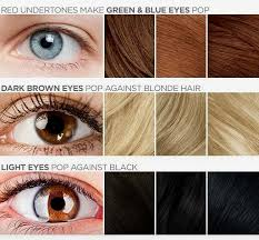 best hair color for blue light brown