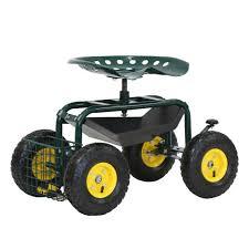 seat garden heavy duty gardening tool
