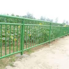 China Cheap Decorative Green Color Metal Garden Border Bamboo Fence China Garden Fence Bamboo Fence