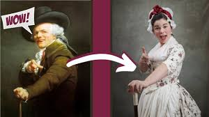 Becoming an 18TH-CENTURY MEME LORD | Recreating the Joseph Ducreux Archaic  Rap Meme as a *~LADY~*! - YouTube