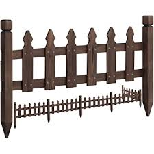 Amazon Com Outdoor Essentials Western Red Cedar French Gothic Fence Picket Bundle 13 Pack Garden Outdoor