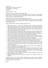 Contoh Surat Cerai Tulisan Tangan Guru Ilmu Sosial